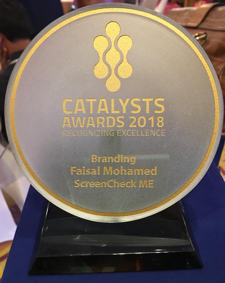 Catalyst Branding - Channel award